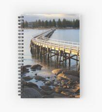 Granite Island Bridge Pt.6 Spiral Notebook