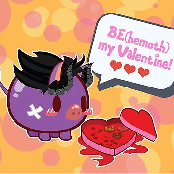 BE(hemoth) my Valentine! by Berri-Blossom