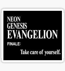 Neon Genesis Evangelion Finale Sticker