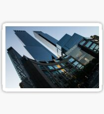 New York Curves and Skyscrapers Sticker