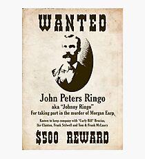 Johnny Ringo wollte Poster Fotodruck