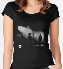 the exorcist Women's Fitted Scoop T-Shirt
