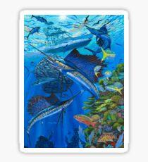 Sailfish Reef Sticker