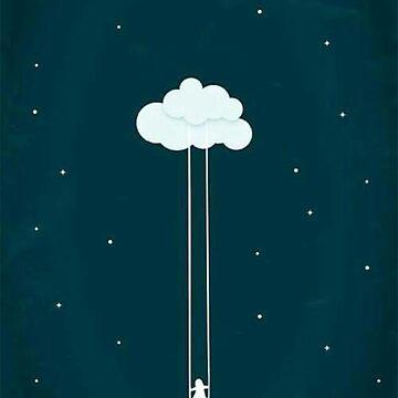 Swinging Cloud by keroquesilva