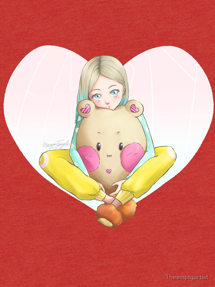 Potato Bear by Theemptyartist