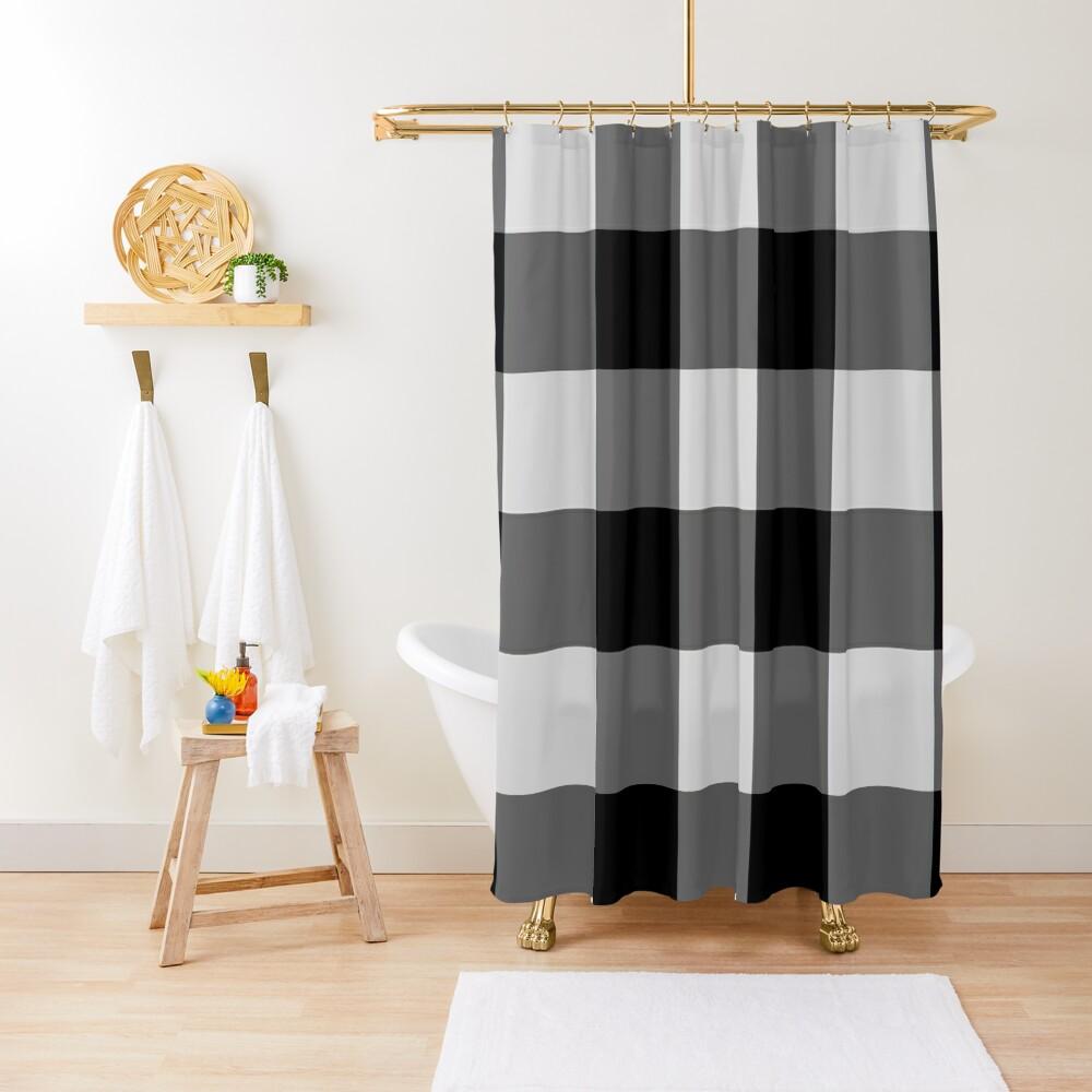 Dan & Phil Dan Bettdecke (sieht aus wie seine tatsächliche Bettdecke !!) Duschvorhang