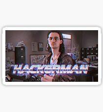 Hackerman Poster Sticker