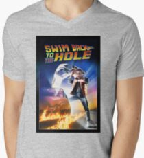 Swim Back to the hole Mens V-Neck T-Shirt