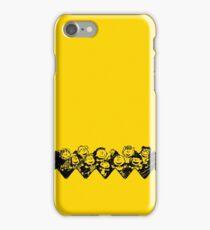 Charlie Brown y sus amigos iPhone Case/Skin