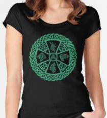 Celtic Nature Women's Fitted Scoop T-Shirt