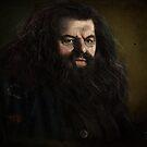 Rubeus Hagrid by Joe Humphrey