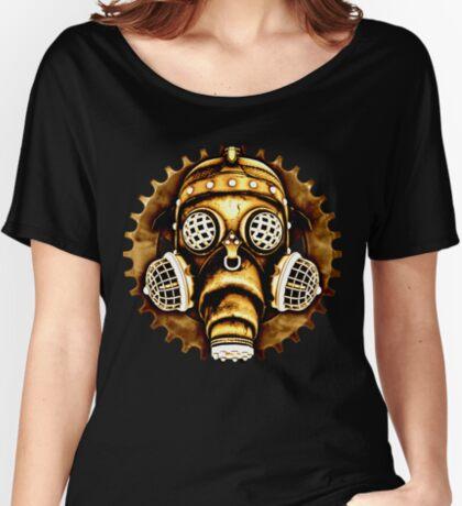 Steampunk/Cyberpunk Gas Mask #1D Steampunk T-Shirts Women's Relaxed Fit T-Shirt