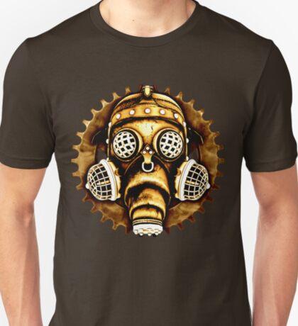 Steampunk/Cyberpunk Gas Mask #1D Steampunk T-Shirts T-Shirt