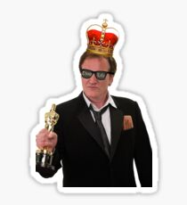 Quentin Tarantino Thug King Sticker