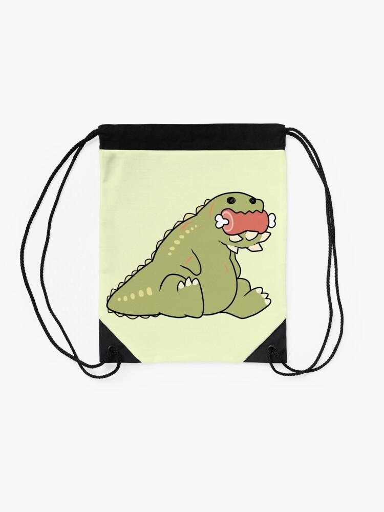 Alternate view of Deviljho Snack Drawstring Bag