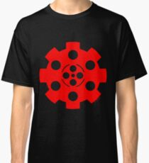 Gear - Red on Black Classic T-Shirt