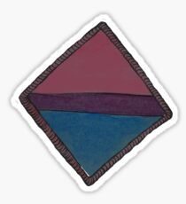 Bisexual Scout Badge Sticker