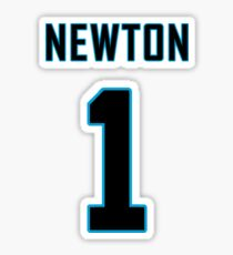 Pegatina Jersey de fútbol Cam Newton