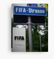 Fifa Headquarters Canvas Print