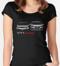 golf gti evolution Women's Fitted Scoop T-Shirt