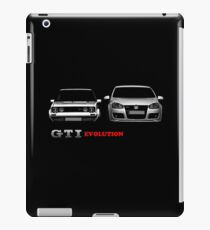 golf gti evolution iPad Case/Skin