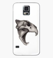 Lion Skull - Hear Me Roar Case/Skin for Samsung Galaxy
