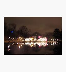 Lights In Motion Photographic Print