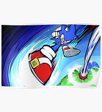 Sonic   Rocket Kick Poster