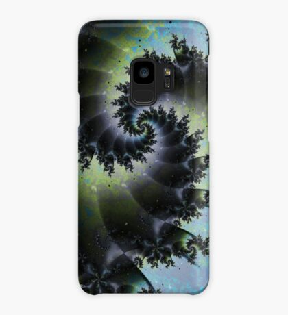 Blue Spiral Galaxy Case/Skin for Samsung Galaxy