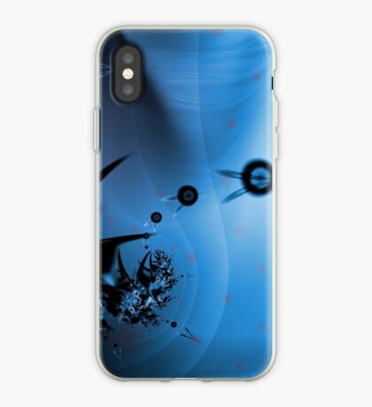 Blue Ocean Abstract iPhone Case