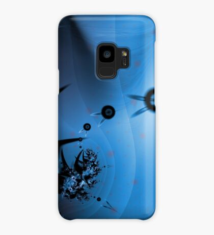 Blue Ocean Abstract Case/Skin for Samsung Galaxy