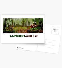 LumberJack-2 Postcards