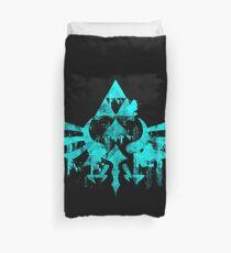Skyward Symbol - Aqua Duvet Cover