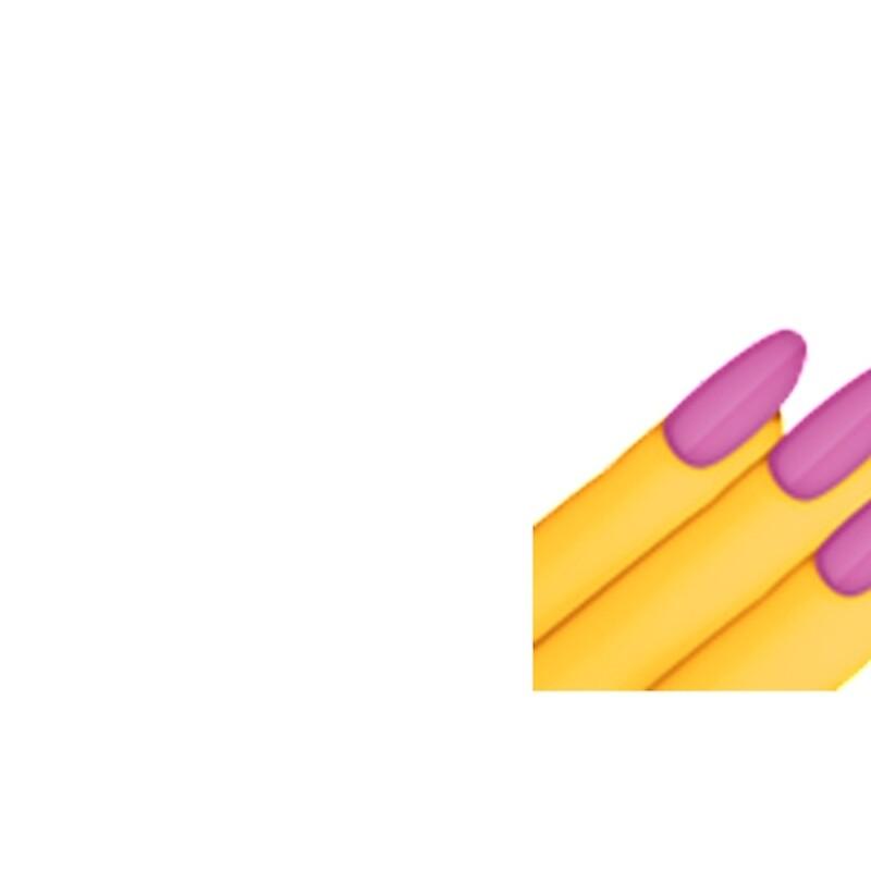 Cuadernos de tapa dura «Esmalte de uñas Emoji» de shirtsforhoes ...