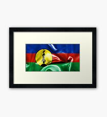 New Caledonia Flag Framed Print