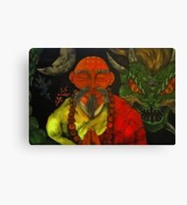 """Dragon Style"" Canvas Print"