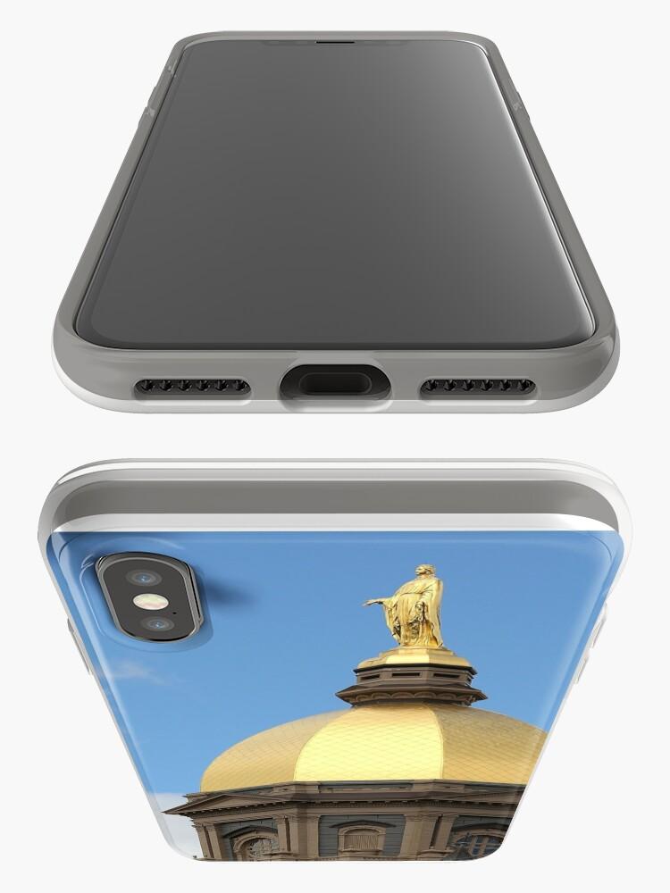 Vista alternativa de Vinilos y fundas para iPhone Domo de oro de Notre Dame