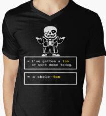 Undertale Sans Men's V-Neck T-Shirt