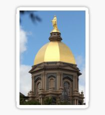 Notre Dame Golden Dome Sticker