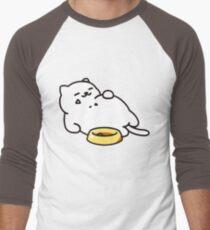 Neko atsume - Tubbs cat Men's Baseball ¾ T-Shirt
