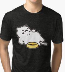 Camiseta de tejido mixto Neko atsume - Tubbs cat
