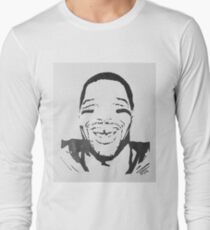 Michael Strahan Portrait Long Sleeve T-Shirt