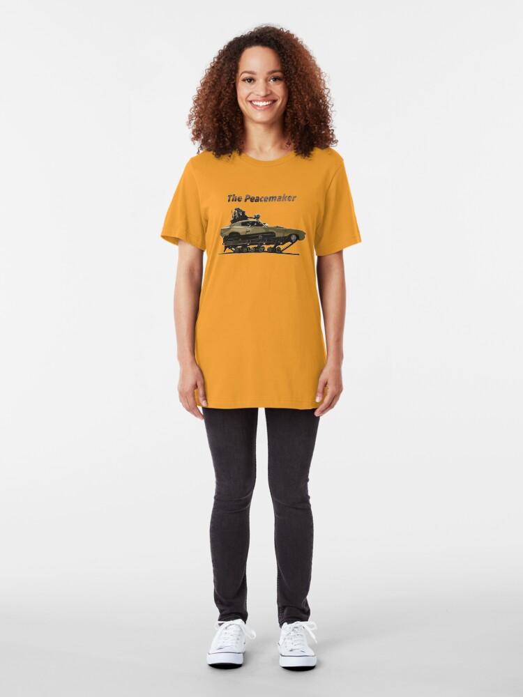 Vista alternativa de Camiseta ajustada El pacificador