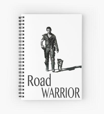 Guerrero del camino Cuaderno de espiral
