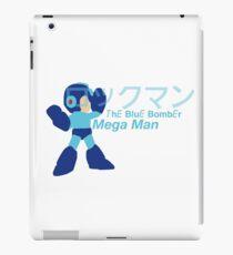 Mega Man The Blue Bomber iPad Case/Skin