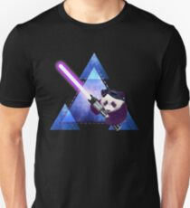 Galactic Panda With Lightsaber Unisex T-Shirt