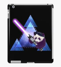 Galactic Panda With Lightsaber iPad Case/Skin