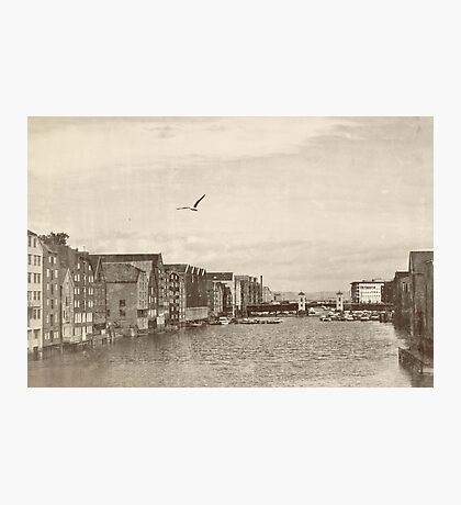 A postcard from Trondheim Photographic Print