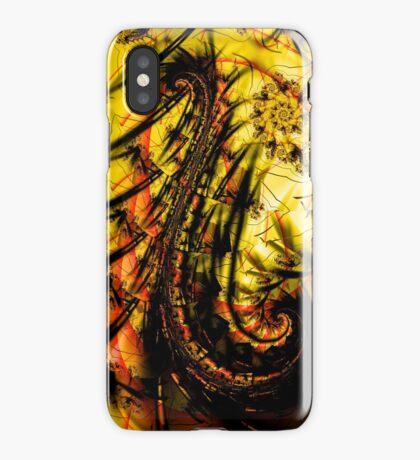 Yellow Symbol Art Design iPhone Case