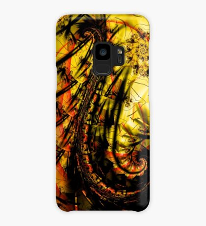 Yellow Symbol Art Design Case/Skin for Samsung Galaxy